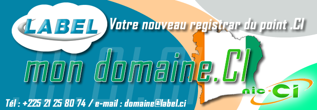 LABEL REGISTRAR DU POINT CI